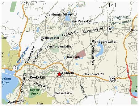 Map Of Cortlandt Manor
